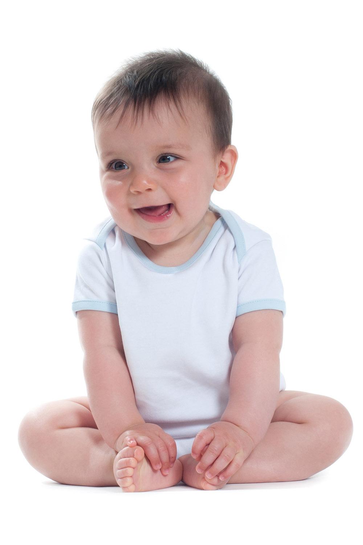 6949e1123b5c LW051 CONTRAST BABY BODYSUIT – Larkwood